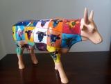 Kráva Pop Art