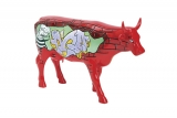 Kráva červená zeď