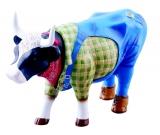 Kráva farmář