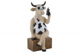 Kráva s mobilem