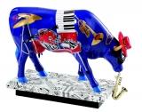 Kráva s nástroji