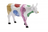Kráva se střípky