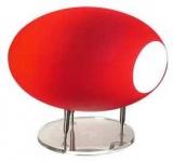 Lampa stolní UFO červená
