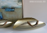 Miska gold mat 39x22cm