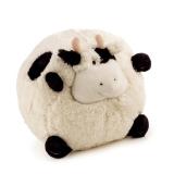 Plyšový olštář kravička 25 cm