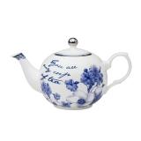 Porcelánová čajová konvička Floral