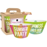 Sada dvou misek Summer party