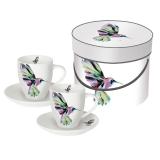Sada šálků espresso Hummingbird