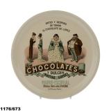 Talíř- Chocolate Lopez