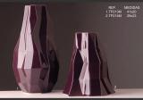 Váza Krystal fialový S