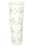 Váza bílá-73cm