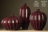 Váza fialová vysoká