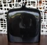 Váza plochá SIBURU 38 černá