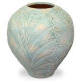 Váza zelené listy 56x56x60