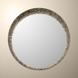 Zrcadlo Excellent 95x95cm Bronzo Led