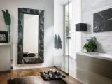 Zrcadlo Magma SILVERED SMOKY GREY 165x80