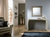 Zrcadlo Nebula BROWN 83x83