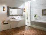 Zrcadlo Sand BRONZE 168x73