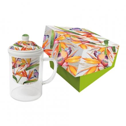 Hrnek na čaj Flower