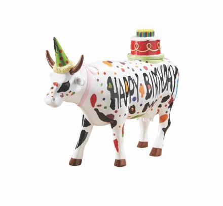 Kráva Happy Birthday