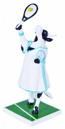 Kráva tenistka