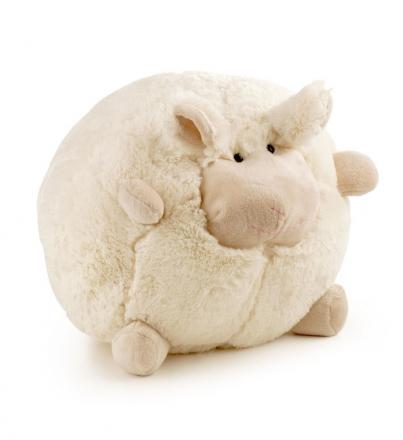Plyšový polštář ovečka 20 cm