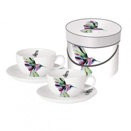 Sada šálků cappuccino Hummingbird
