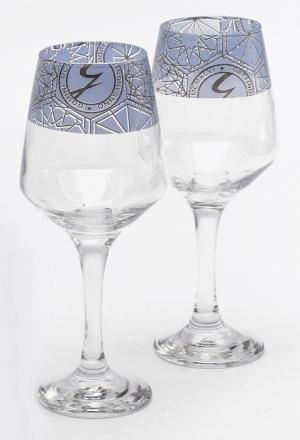 Sklenice na víno v.19 cm