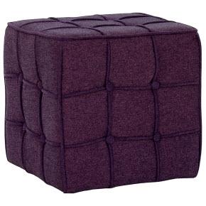 Taburet- fialová kostka