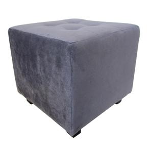 Taburet šedý
