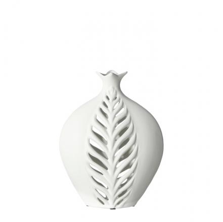 Váza Krajkový list