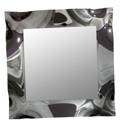 Zrcadlo Meridiana SILVER 70x70